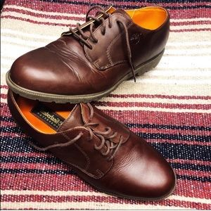 Timberland Waterproof Leather Lace Up Loafer